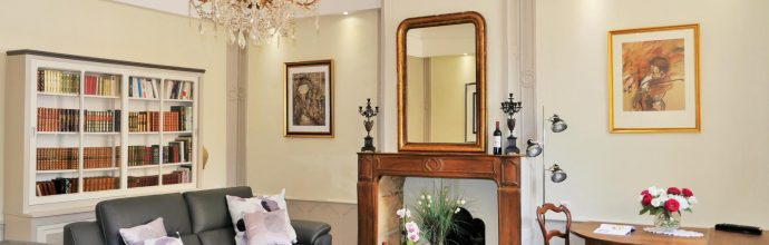 main room sarlat luxury apartment 4 people